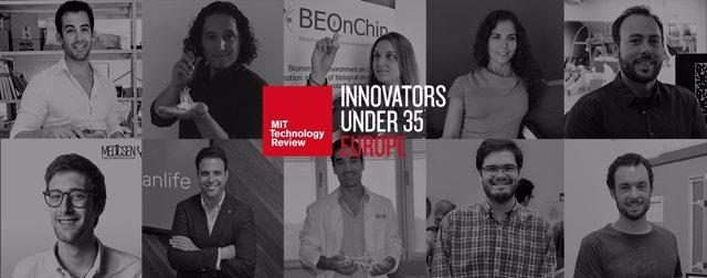 Finalistas españoles a la lista de Innovadores Menores de 35 Europa