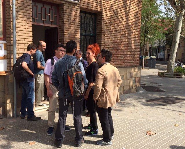 Reunión de diputados de SíQuEsPot sobre sus cambios de estructura