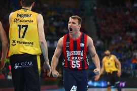 Baskonia anuncia las salidas de Rafa Luz, Jaka Blazic y Kim Tillie