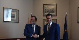 Mariano Rajoy y Pedro Sánchez mantendrán una reunión el próximo jueves en La Moncloa