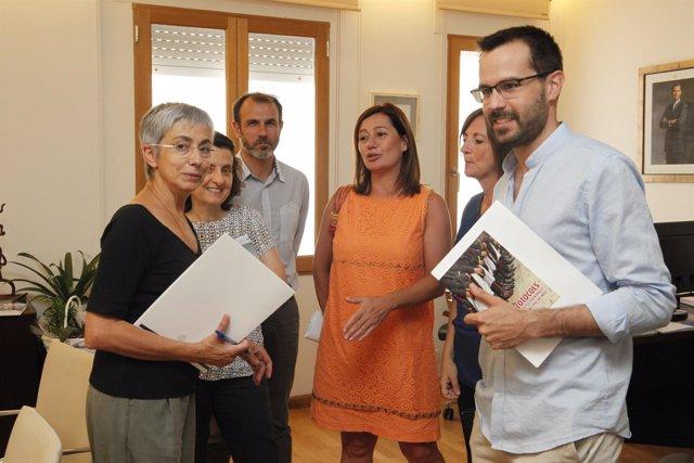 Reunión en Menorca