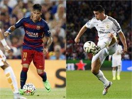 Neymar y James Rodríguez, entre los 10 deportistas menores de 26 años mejor pagados