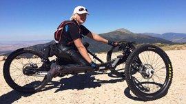 La Policía recupera la bicicleta robada de la paralímpica Gema Hassen-Bey