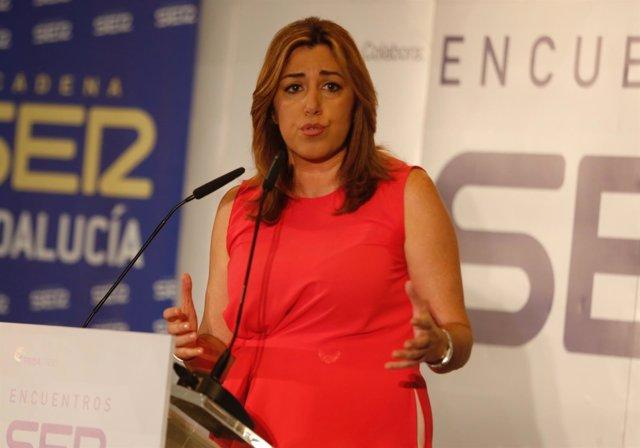 Susana Díaz interviene en los encuentros de la cadena SER
