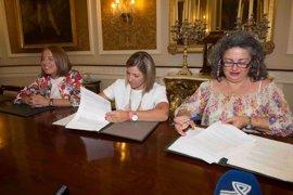 Diputación de Cádiz y Amep firman un convenio para apoyar el emprendimiento femenino en la provincia