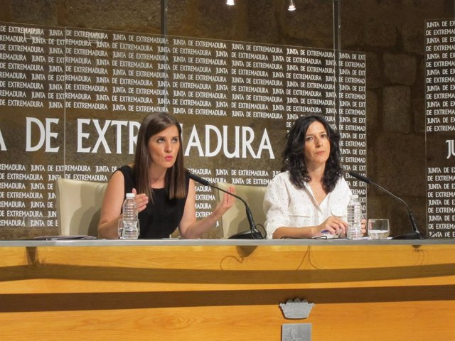 Isabel Gil Rosiña y Esther Gutiérrez