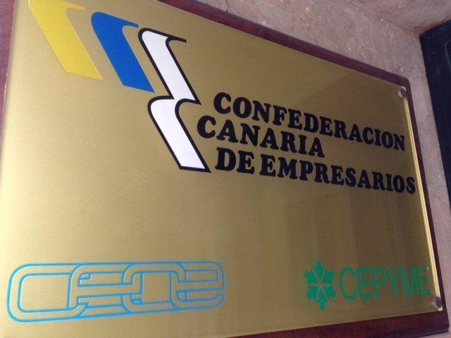 Entrada de la sede de la CCE en Las Palmas de Gran Canaria