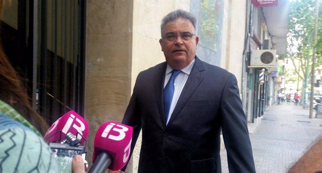 El Fiscal Jefe De Baleares, Bartomeu Barceló,