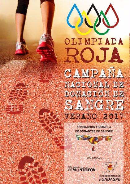 La Federación Española de Donantes de Sangre pone en marcha la campaña estival de donación 'Olimpiada Roja 2017'