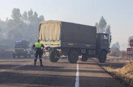 La Junta señala al factor humano como causa del incendio forestal de Riotinto
