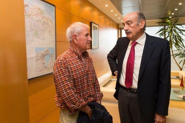 Mazón con alcalde Herrerías