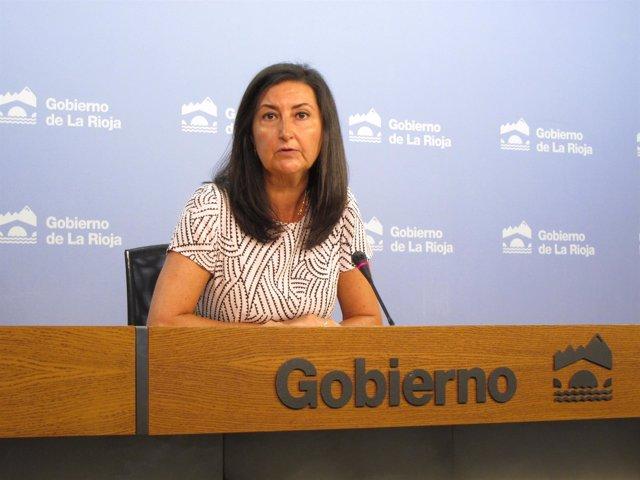 La directora general de Empleo, Cristina Salinas