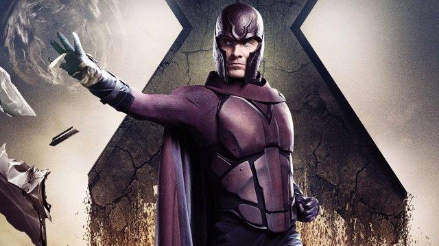 Michael Fassbender como Magneto en un póster de X-Men: Días del futuro pasado