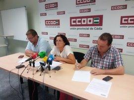 Comisiones Obreras exige a Alestis Cádiz abrir la mesa de negociación para homogeneizar las condiciones laborales