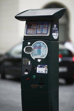 Parquímetro de coches