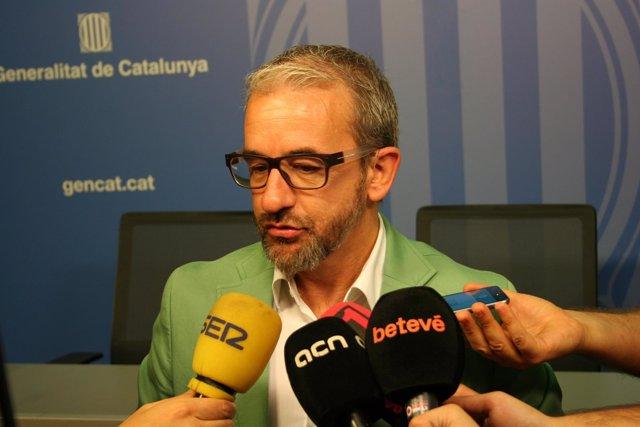 El secretario general de Trabajo, Asuntos Sociales y Familias, Josep Ginesta