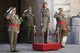 Cospedal recuerda que el Ejército tiene la misión de garantizar la soberanía de España y su integridad territorial