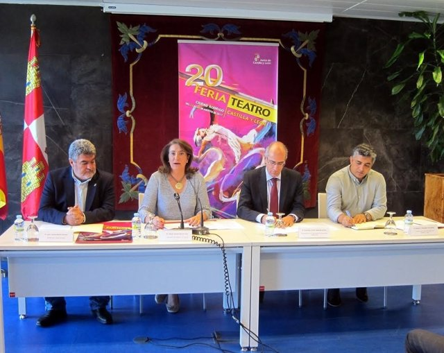 Salamanca. Presentación Ciudad Rodrigo Teatro