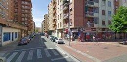 Imagen de la calle Milicias, cerca de Albia de Castro