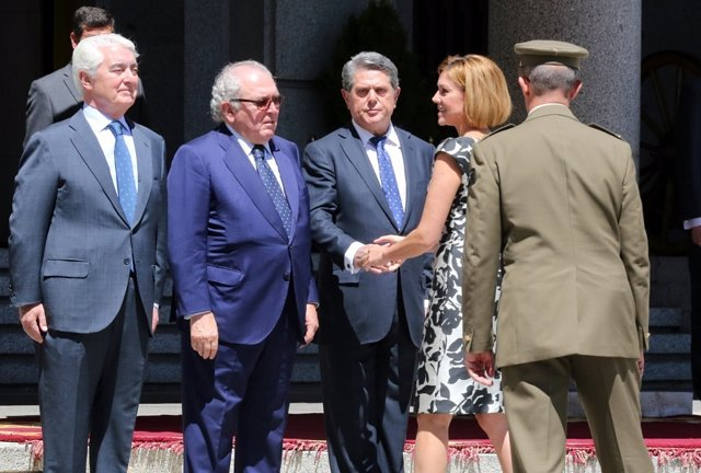Cospedal preside el acto de celebración del 40º aniversario del Ministerio