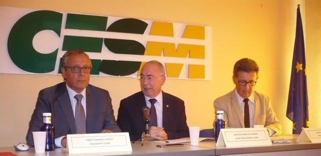 Rueda de prensa de CESM