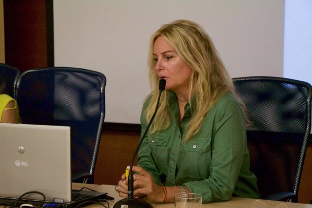 María Luisa Funes en los cursos de verano de la UPO