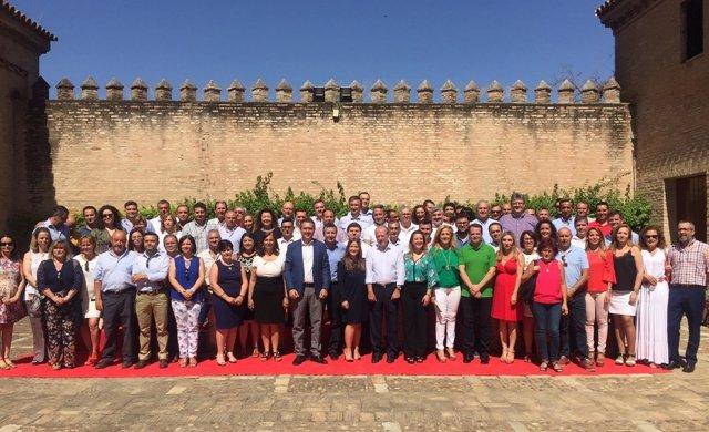 4.07.2017 Foto Y Audios Acto Alcaldes Psoe De Sevilla