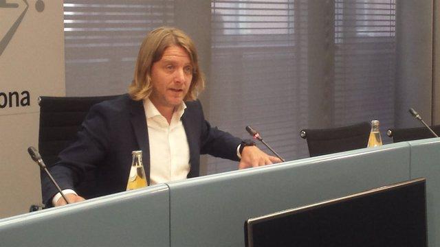 El comisionado de Deportes de Barcelona, David Escudé