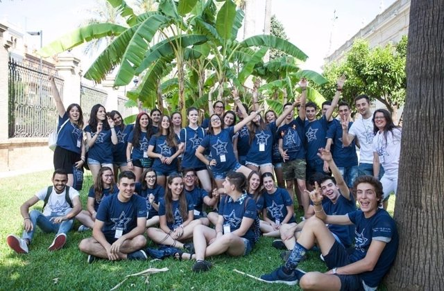 Alumnos participantes de la octava edición del Campus Científico de verano