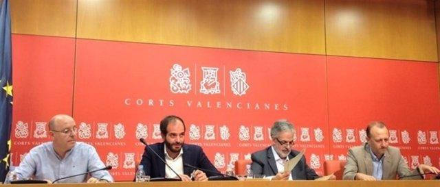 Los diputados Marí, De Miguel, Rojo y García anuncian su marcha de Cs