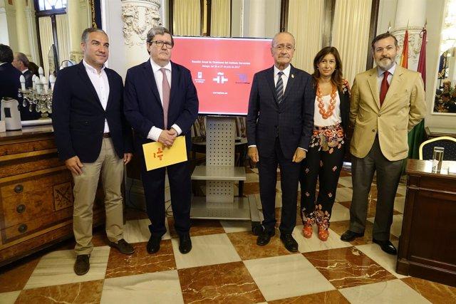Bendodo Instituto Cervantes De la Torre alcalde diputación gemma reunión anual
