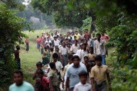 Un rohingya muerto y seis heridos por un ataque de una turba de budistas en el estado birmano de Rajine