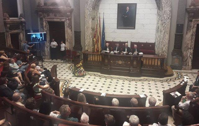 Conmemoración en València del Congreso de Escritores de 1937