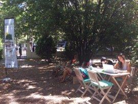 La Misericordia acoge un servicio de 'bibliojardín' para los meses de veranos