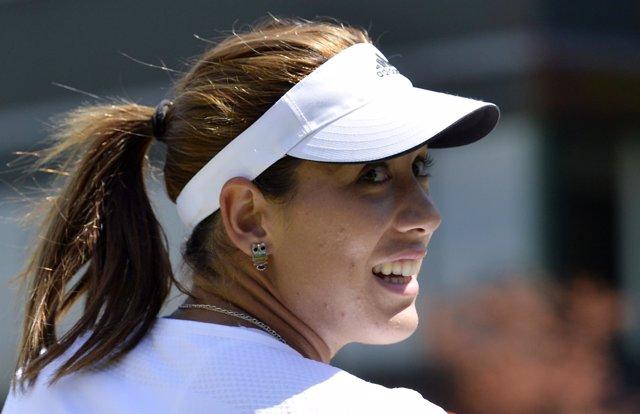 Garbiñe Muguruza en Wimbledon