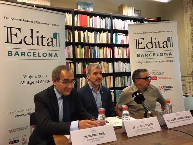 P.Tixis, J.Collboni i J.Aparicio