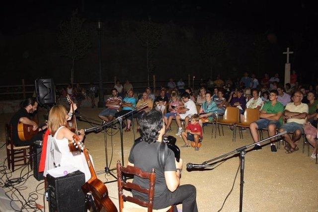 El programa 'Rincones de Música y Palabra' vuelve a Oria este verano.