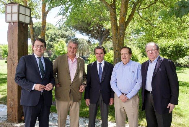 Presidentes y ex presidentes PP Castilla y León y Junta