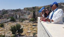 """Oltra sobre su viaje a Csijordania: """"Este viaje supone devolver el prestigio a los proyectos de solidaridad del Consell"""""""