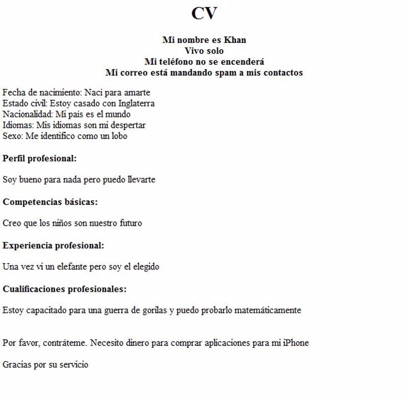 Rellena su CV utilizando la función auto-completar de Google y ...