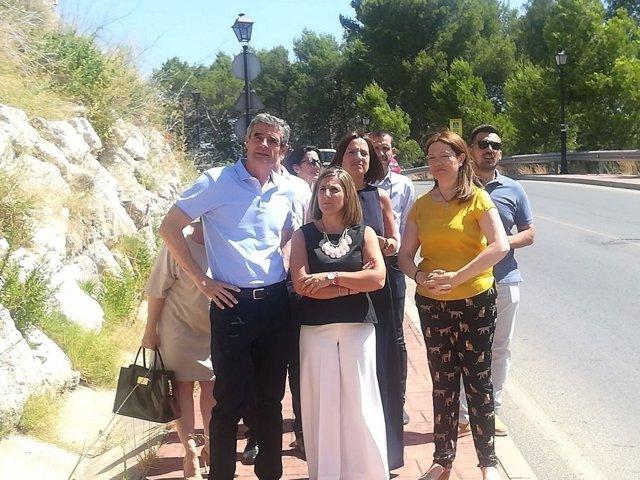 La Diputación colabora en el arreglo del puente de Angorrilla