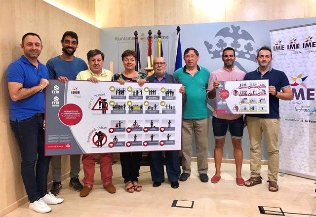 Presentación de la campaña del IME de valores deportivos