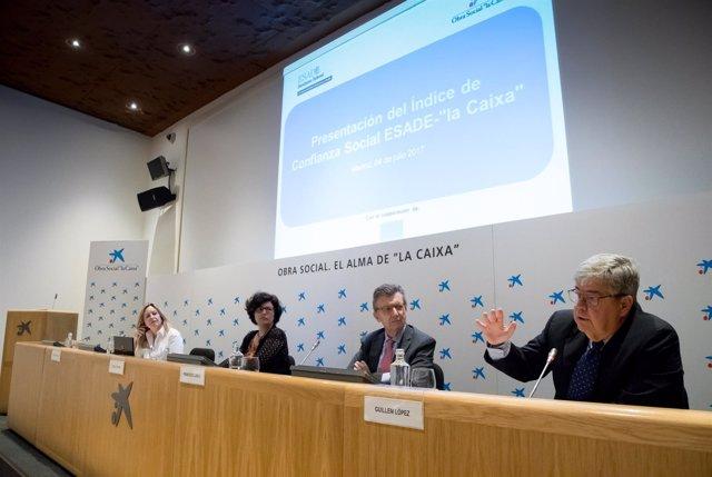 Presentación del Índice de Confianza Social de ESADE