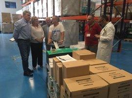 El Banco de Alimentos y Cruz Roja repartirán más de 424.000 kilos de alimentos entre 21.000 jiennenses