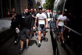 """Sagan: """"Pido disculpas a Cavendish, no sabía que venía por detrás"""""""