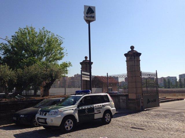 Registro de oficinas de Adif en La Sagrera