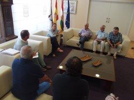 Gamarra se compromete a que la segunda fase de la remodelación de Milicias esté licitada en septiembre