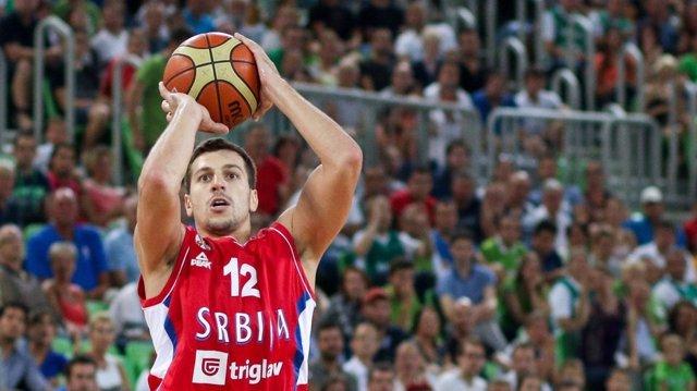 Dragan Milosavljevic, internacional con Serbia y jugador de Unicaja