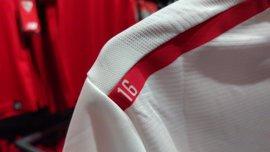 El Sevilla homenajea a Antonio Puerta en su nueva camiseta