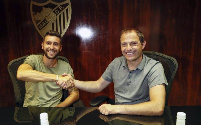 Borja Bastón, nuevo jugador del Málaga